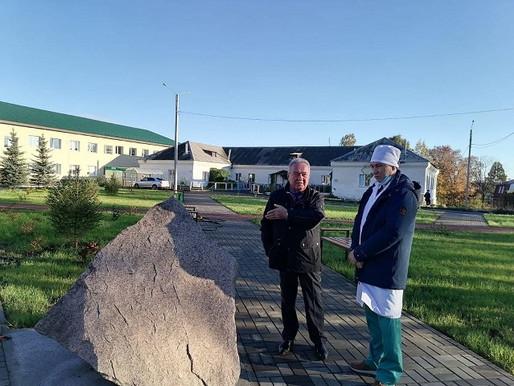 Сибагатулла Нуруллович с главным врачом обсудил планы по ремонту больничных корпусов