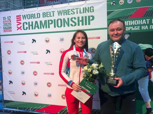 Александр Галактионов и Дина Гизатулина – заслуженные тренер и мастер спорта
