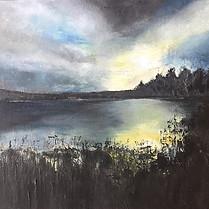 Moonlight at Frensham Pond