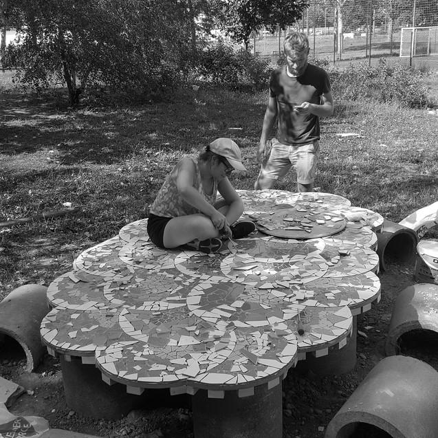 tables et bancs