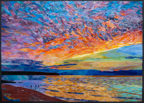 Riotous Sky Over Lake Superior (2021)