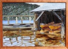 Mountain Lake Boathouse