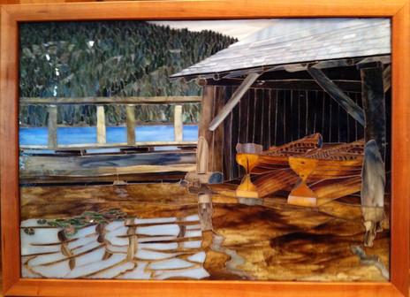 Mountain Lake Boathouses