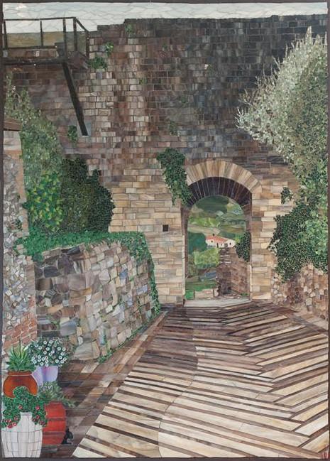 North Gate at Montereggiano