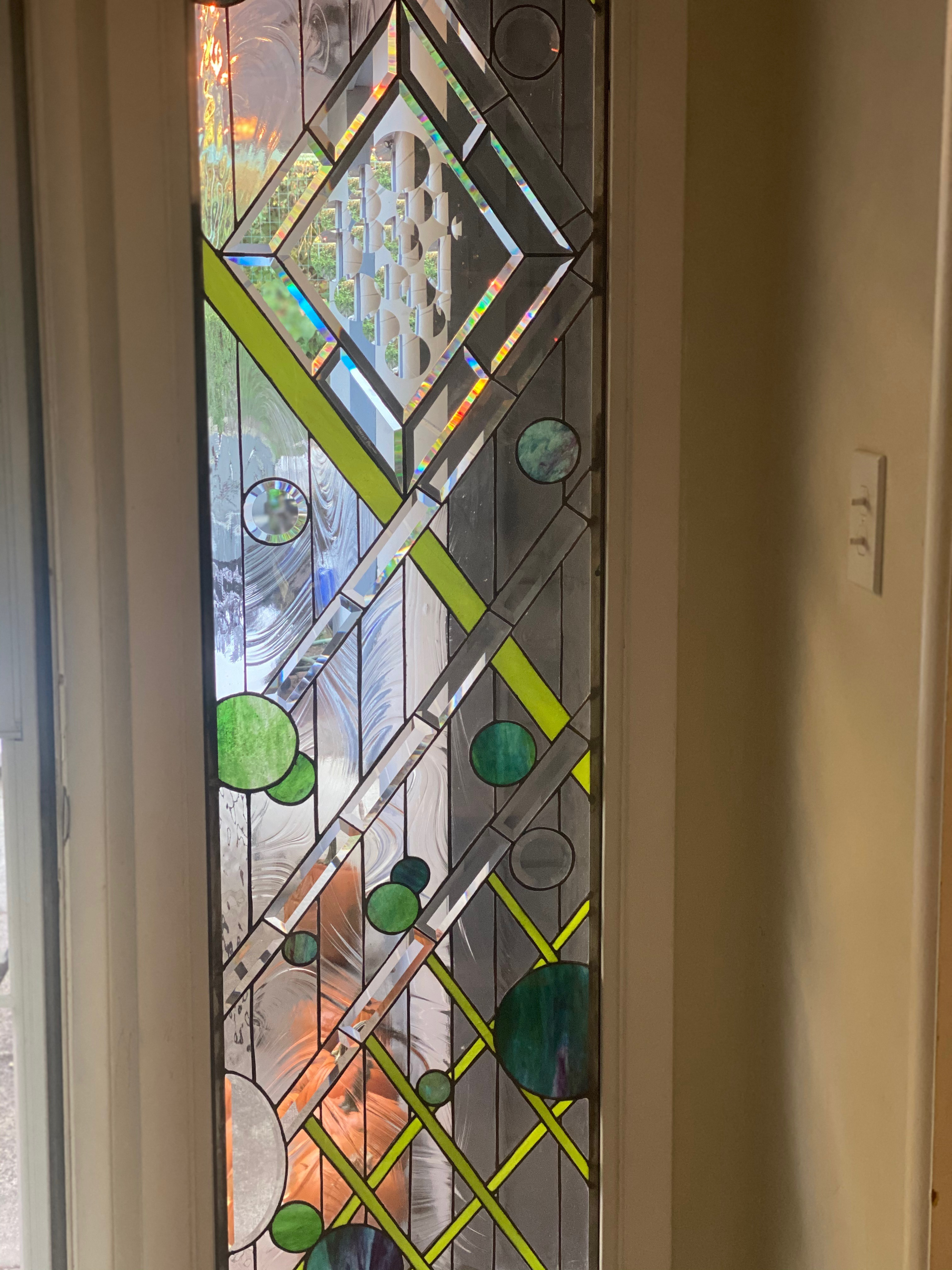 Sausalito reflections (close-up, V.2)