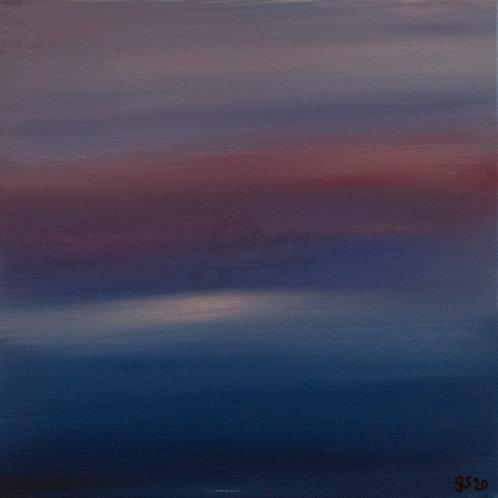 Hazy Sunset Seascape 1