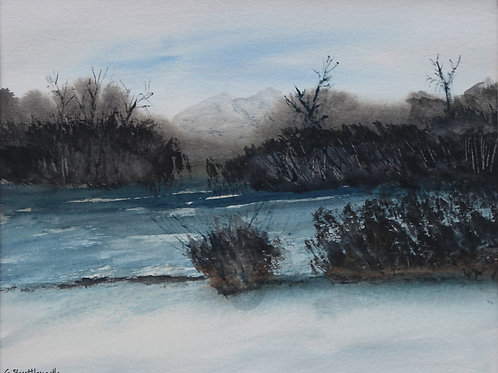 Winter at the River