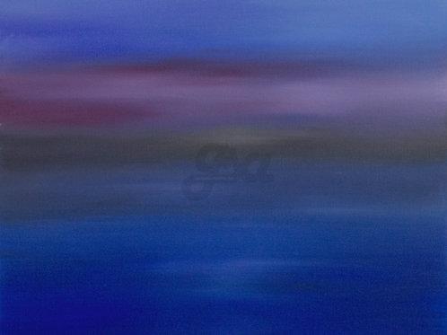 Hazy Sunset Seascape 3