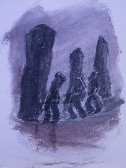 Men at Stones