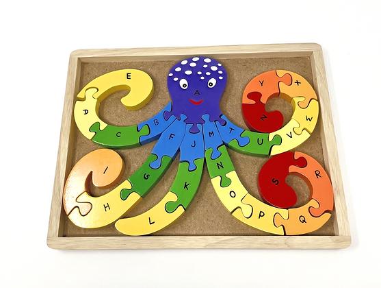 Alphabet Octopuzzle