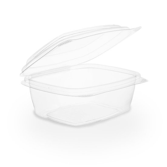 Hinged Deli Container 8oz Compostable