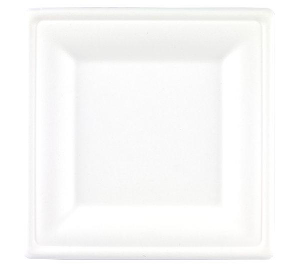 Bagasse Square Plate