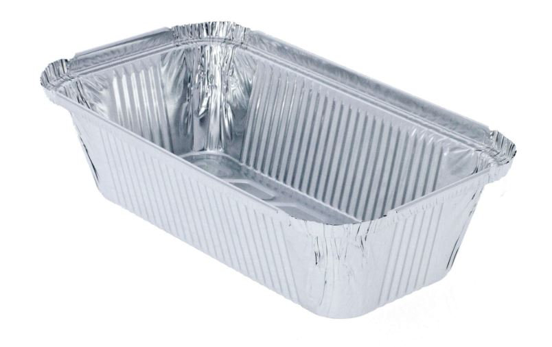 Foil food tray size 6A