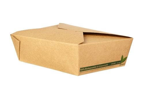 No.3 Kraft Food Carton - Compostable