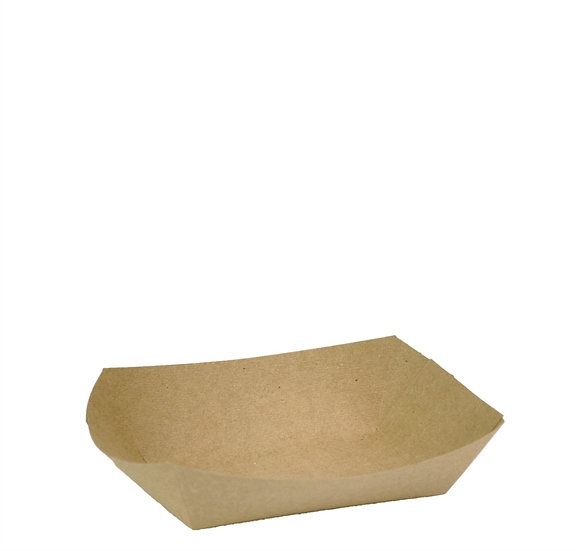 Kraft Food Tray - Compostable