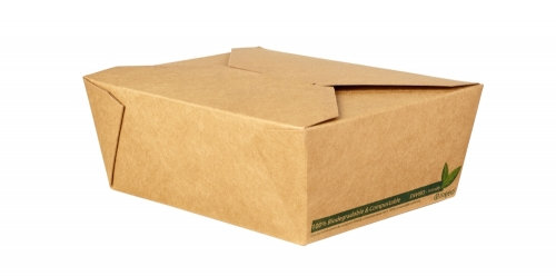 No.8 Kraft Food Carton – Compostable