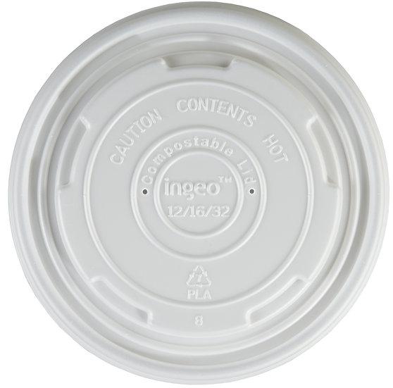 Compostable Soup Container Lid 12/16oz