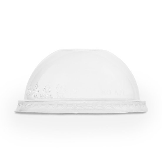 Bella Pot Lid Domed No Hole - PLA compostable