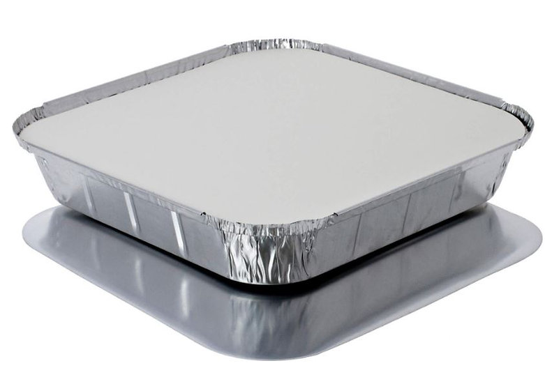 Lid for foil tray size 9D