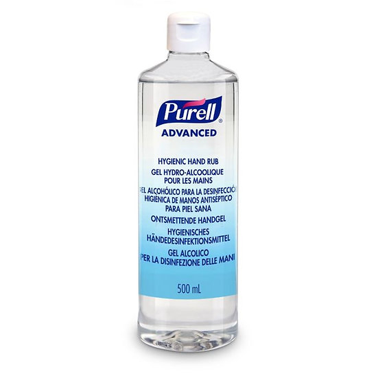 Purell Hand Sanitiser 500ml - pack/12