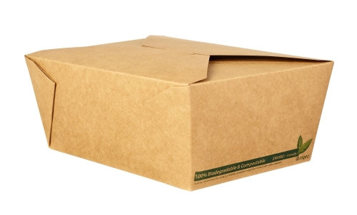 No.4 Kraft Food Carton – Compostable