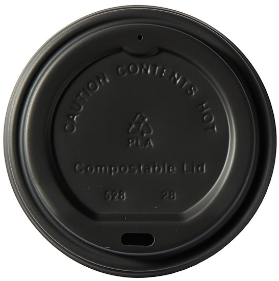 Compostable Domed Sip-thru Lid to fit 8oz cup