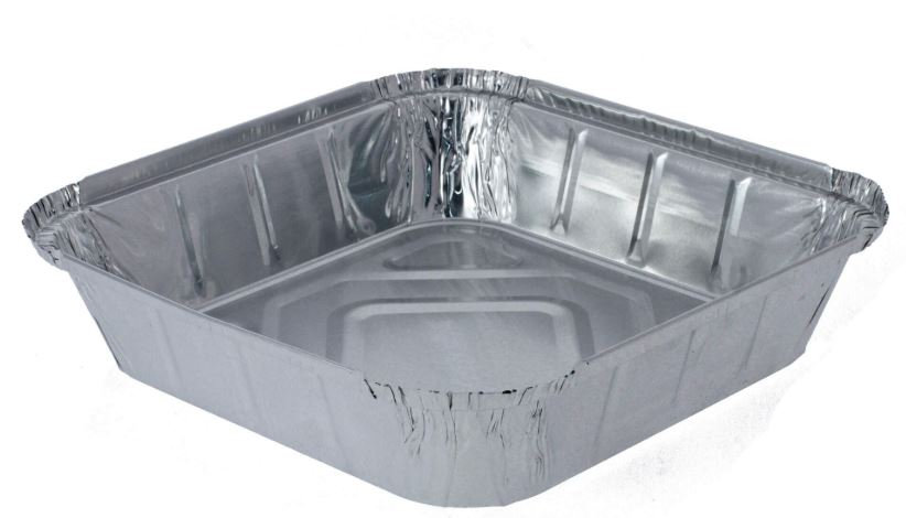 Foil food tray size 9