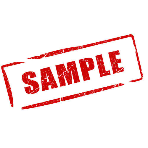 Product sample request