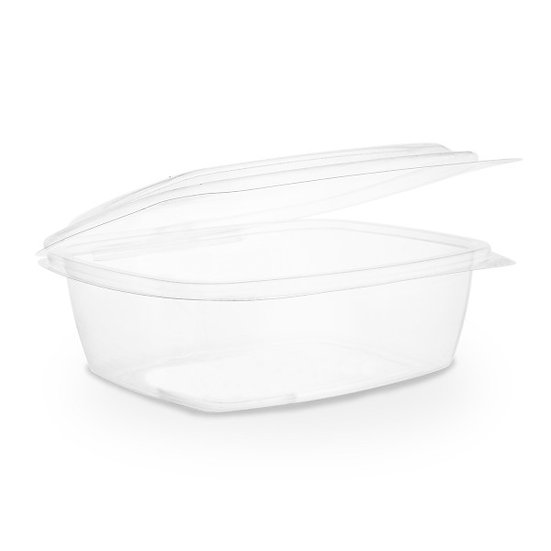 Hinged Deli Container 32oz Compostable