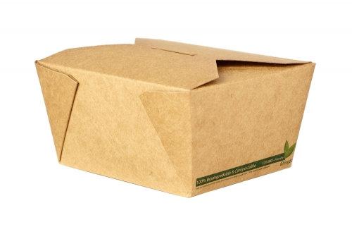 No.1 Kraft Food Carton – Compostable