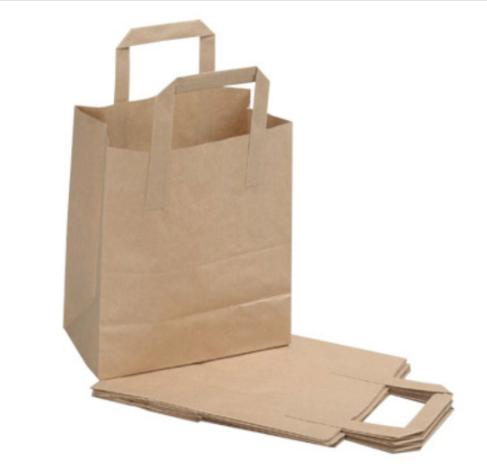 Kraft Bag with Tape Handle