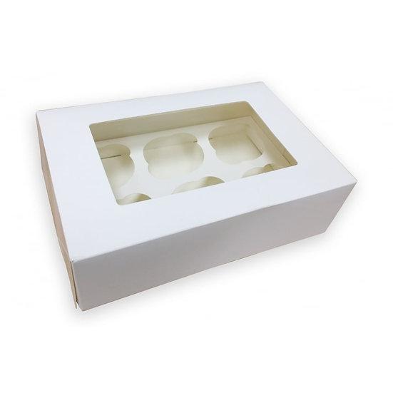 Cupcake box- holds 6 cupcakes