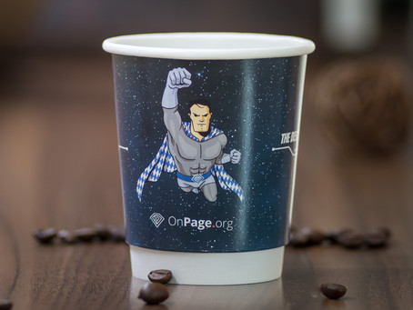 Free artwork for printed cup orders in June