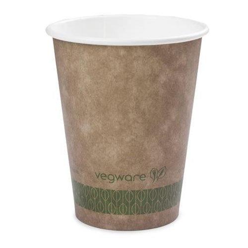 Vegware Brown Kraft Hot Cup