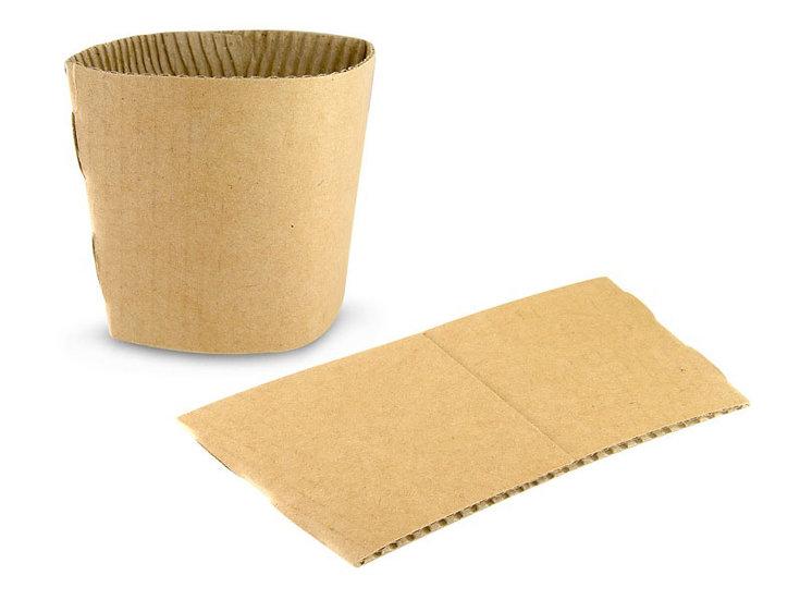 8oz Kraft Cup Sleeves