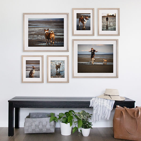 multiframed wallart collection