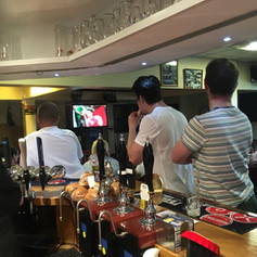 Extra TV Screen in the front bar