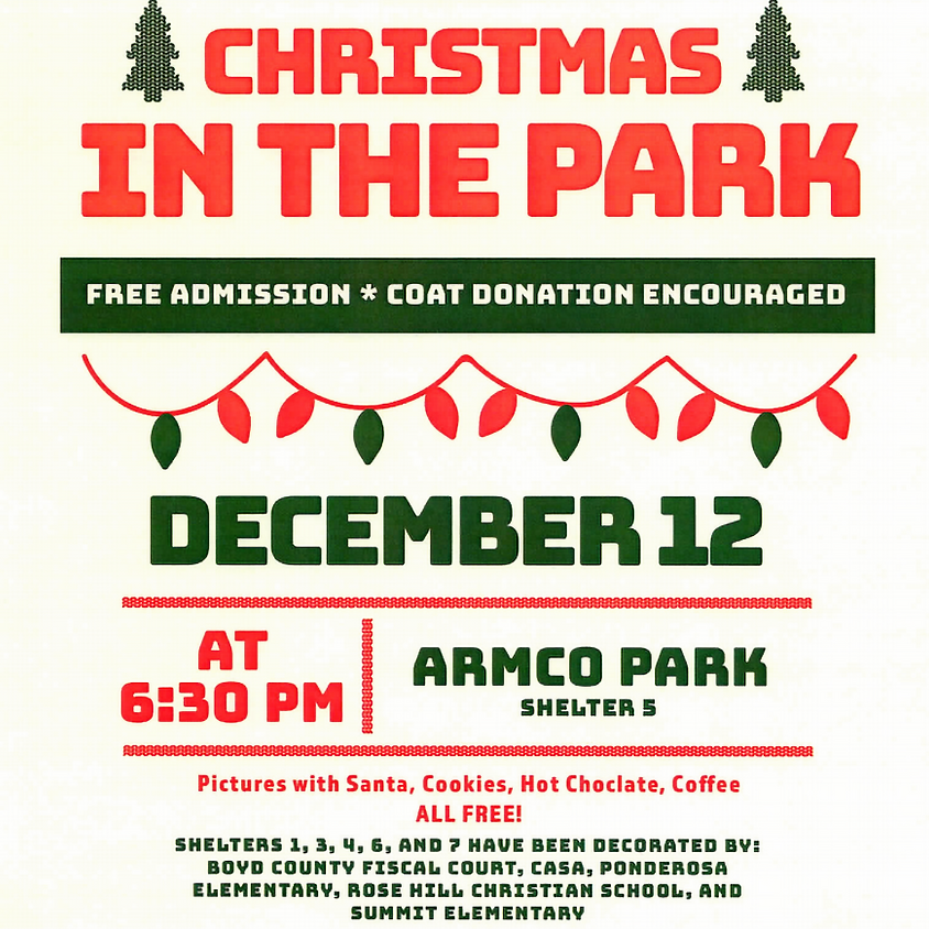 Christmas and Meet Santa in the Park