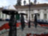 Óbuda Street Statues