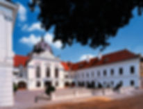 Gödöllö Royal Castle baroque facade