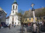Szentendre artists' town Main Square