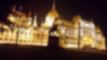 Budapest Parliament House by night