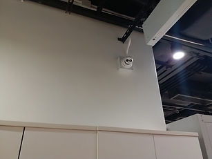 CCTV camera - Vertical Installation