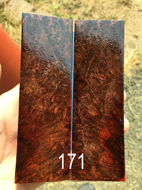 Stabilized wood for scales 2