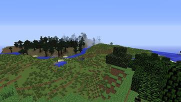 Minecraft Arial Shot