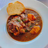 Oxtail Bourguignon to die for