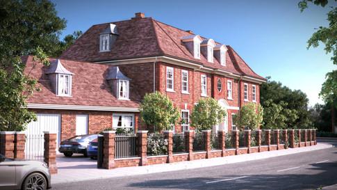 Wimbledon Parkside New Build House