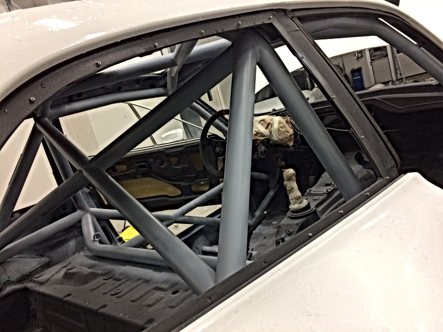 T45 roll cage build