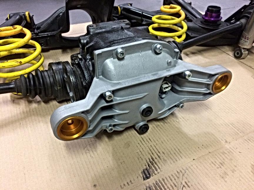 Rear differential rebuild