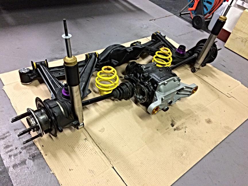 Complete rear end assembly rebuild